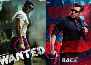 Salman Khan's lucky bracelet makes a comeback on Race 3 poster after 9 long years