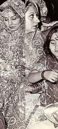 Karisma Kapoor looks cute in this throwback pic of Neetu Kapoor's wedding