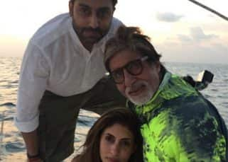 Amitabh Bachchan and Abhishek share adorable posts on Instagram for Shweta's 44th birthday