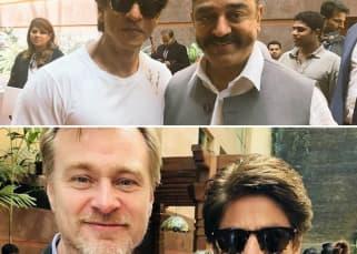 [Photos] Shah Rukh Khan, Amitabh Bachchan, Kamal Haasan come together to meet Christopher Nolan