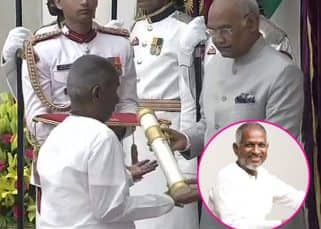 Padma Awards: Music composer Ilaiyaraaja receives Padma Vibhushan from president Ram Nath Kovind - view pics