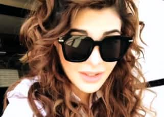 An injured Jacqueline Fernandez resumes Race 3 shoot wearing sunglasses