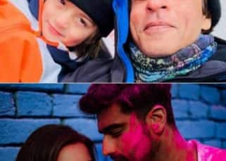 Shah Rukh Khan with AbRam, Arjun Kapoor-Parineeti Chopra's Holi - check out the pictures that went VIRAL this week