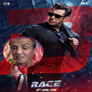 Is Sylvester Stallone doing a cameo in Race 3? This video suggests so!