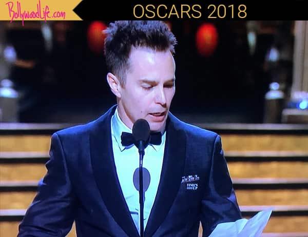 Sam Rockwell dedicates Oscar win to his 'old buddy' Philip Hoffman