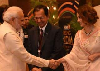 Kangana Ranaut meets Prime Minister Narendra Modi with a wide smile on her face - view pics