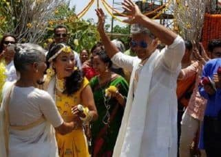 [INSIDE PICS AND VIDEOS] Milind Soman to tie the knot with girlfriend Ankita Konwar TODAY in Alibaug!