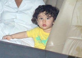 [PICS] Missed little Taimur in grandmom Babita's birthday party pictures? Well he's here to cheer you up again!