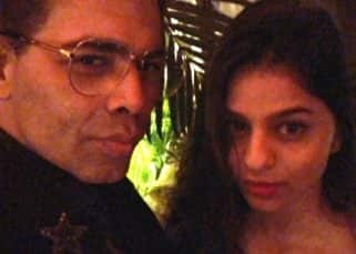 Suhana Khan gets pouting lessons from Karan Johar and the result is damn pretty - view pic