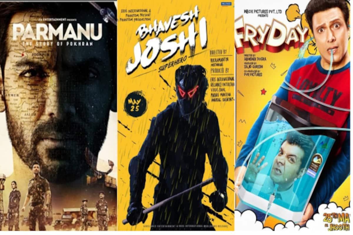 Parmanu, Bhavesh Joshi Superhero and Fry Day to clash with