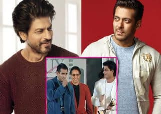 When Shah Rukh Khan gave away his 'best actor' trophy to Salman Khan - watch video