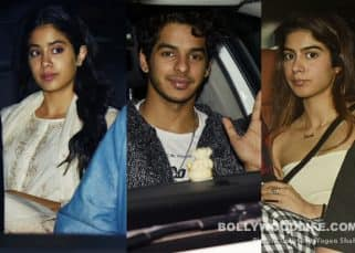 Janhvi Kapoor and Khushi Kapoor join Ishaan Khatter for a special screening of Beyond the Clouds