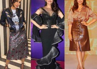 Parineeti Chopra, Kajal Aggarwal and Karisma Kapoor's fashion choices get a thumbs down from us