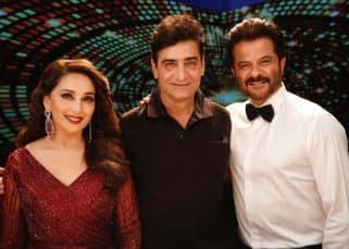 Anil Kapoor and Madhuri Dixit kickstart the shooting of Indra Kumar's Total Dhamaal with a grooving title track