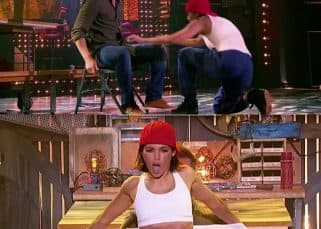 When Jenna Dewan stripped and made Channing Tatum blush on Lip Sync Battle - watch video
