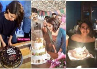 Three cakes later, Samantha Ruth Prabhu leaves for a birthday getaway to Delhi - view pics
