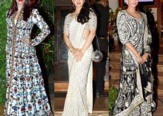 [PICS] Aishwarya Rai Bachchan, Sonam Kapoor, Sara Ali Khan add glamour to Sandeep Khosla's niece Saudamini Mattu's wedding reception