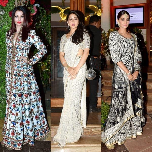Pics Aishwarya Rai Bachchan Sonam Kapoor Sara Ali Khan Add