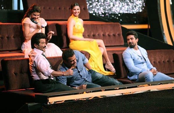 Anil-Kapoor,-Salman-Khan,-Saqib-Saleem,-Daisy-Shah-and-Jacqueline-Fernandez