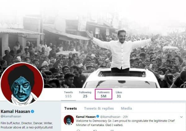 Kamal Haasan twitter