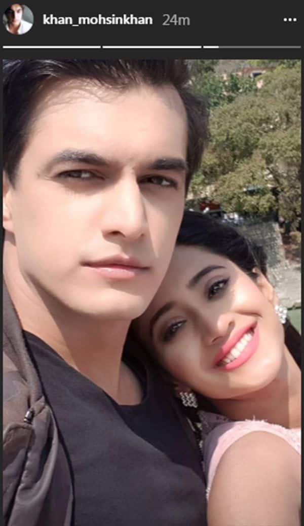 Happy Birthday Shivangi Joshi Boyfriend Mohsin Khan S