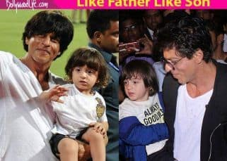 On AbRam's 5th birthday; here's looking at all those times when he twinned with his daddy cool Shah Rukh Khan
