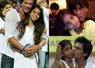 Birthday girl Suhana Khan has always been daddy's girl and these pictures with Shah Rukh Khan are proof