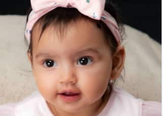 Esha Deol shares the FIRST PIC of her baby Radhya and she's truly an angel