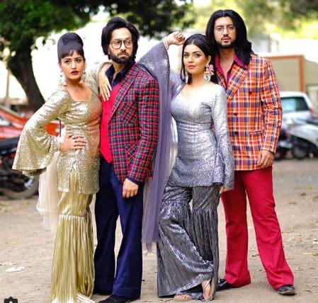 ishqbaaaz shivaay and anika gear up for retro style party before