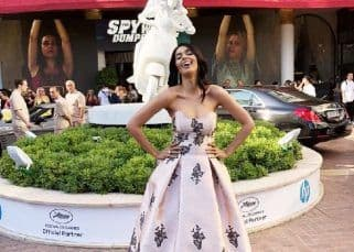 Cannes 2018: Mallika Sherawat stuns everyone with her dazzling Yolancris outfit - view pics