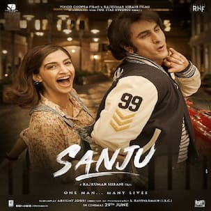 Sanju new poster out! All eyes on Sonam Kapoor as she joins Ranbir to show us Sanjay Dutt's crazy, romantic life