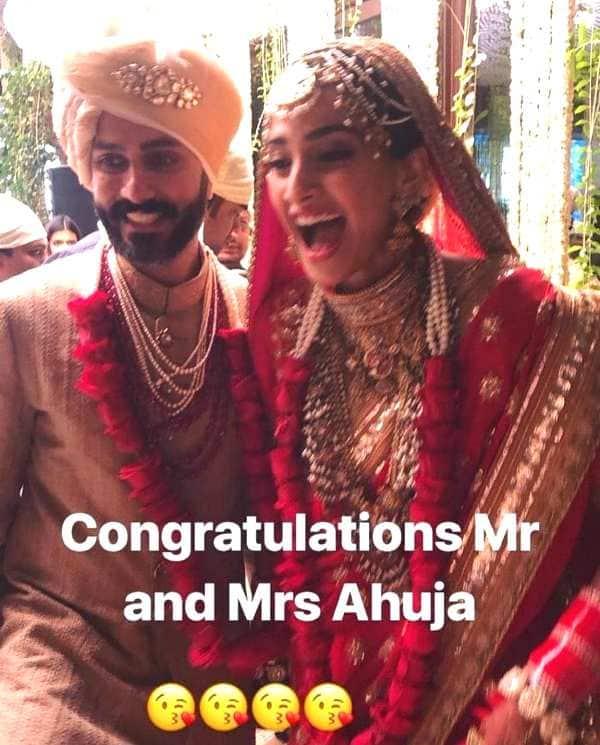 sonam kapoor anand ahuja marriage ceremony 2