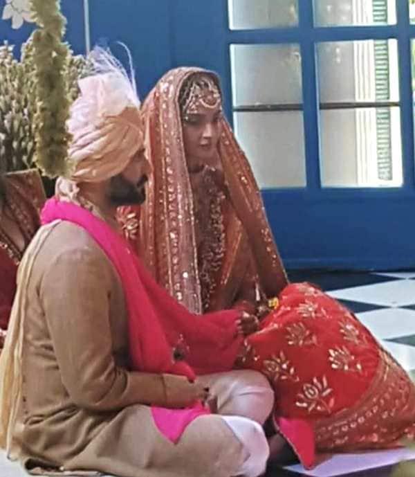 sonam kapoor anand ahuja marriage ceremony