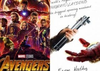 Star Wars congratulates the Avengers team for shattering box office records but Mark Hamill has a special advice for Iron Man