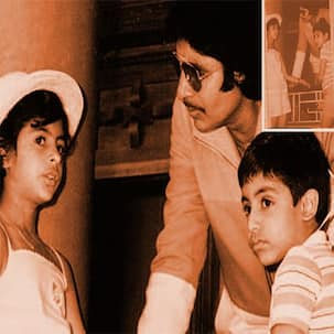 Throwback Thursday: When Abhishek and Shweta surprised Amitabh Bachchan on the sets of Mahaan