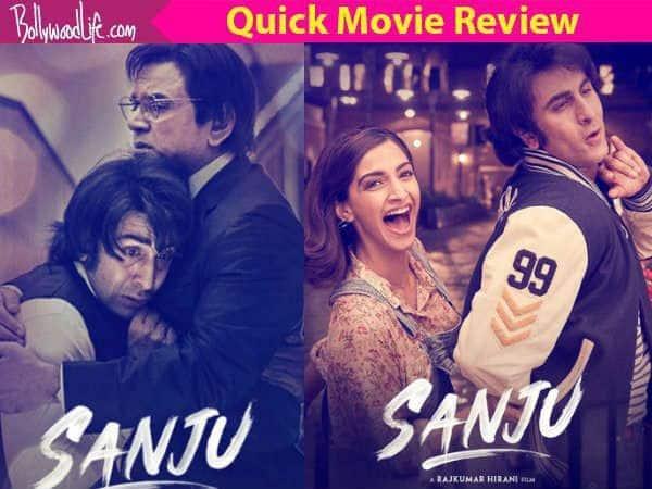 Sanju quick movie review: Ranbir Kapoor is set to win every
