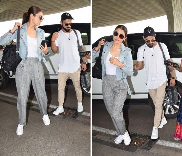 Airport spotting! Anushka Sharma and