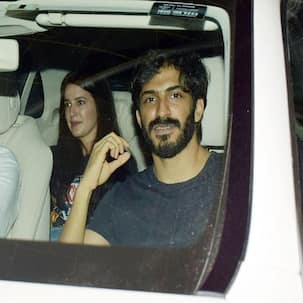 What's brewing? Isabelle Kaif and Harshvardhan Kapoor spotted hanging out together - view pics