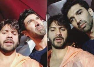 First rains in Mumbai bring Varun Dhawan and Aditya Roy Kapur's Kalank shoot to a halt - watch video