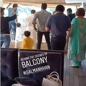 जब सलमान खान के घर के बाहर लगा था फैंस का हुजूम, वीडियो में देखें उस वक्त बालकनी में कैसा था माहौल