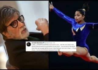 Amitabh Bachchan congratulates Indian gymnast Dipa Karmakar for winning gold medal at World Challenge Cup