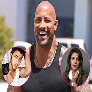 Dwayne Johnson quips he set up Nick Jonas and Priyanka Chopra, says, 'I did it, yes' - watch video