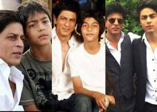 Happy birthday, Aryan Khan! These pictures prove he is a spitting image of father Shah Rukh Khan and his transformation has been remarkable