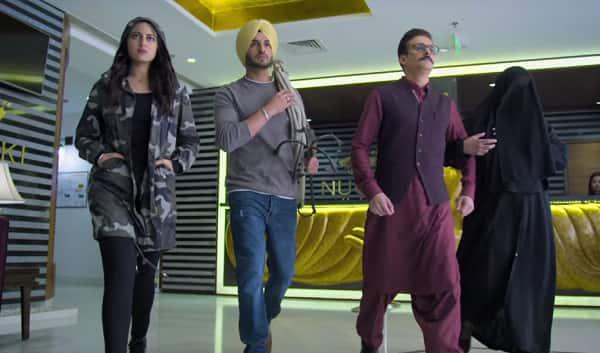 Happy Phirr Bhag Jayegi Trailer Sonakshi Sinha Takes Diana Penty S