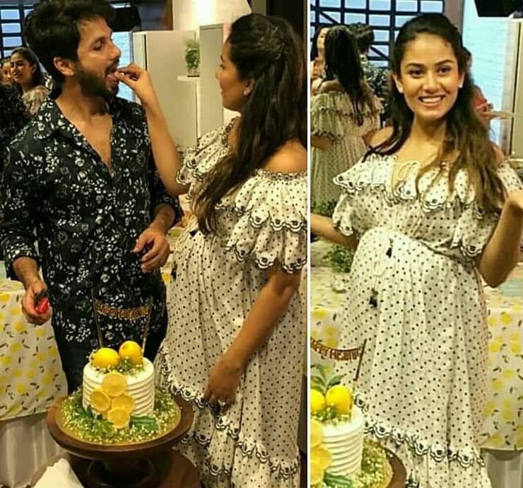 Inside Pics Pregnant Mira Rajput Looks Like The Happiest Second