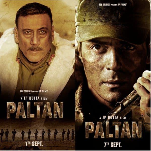 Paltan Posters Meet The Prinicipal Characters Of Jp Dutta S War