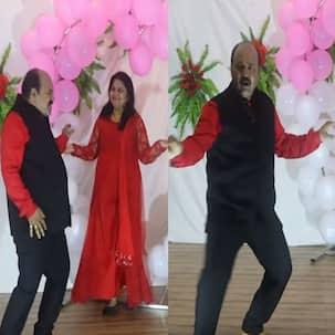 फिर से लौट आए डांसिंग अंकल, गोविंदा नहीं इस दफा मिथुन दा के 'जूली-जूली' पर दिखाए डांस मूव्स