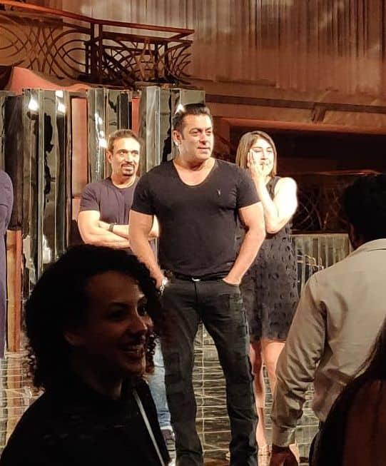 Salman Khan rehearses