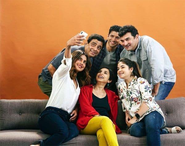 Priyanka Chopra starts film Sky Is Pink with Farhan Akhtar and Zaira Wasim