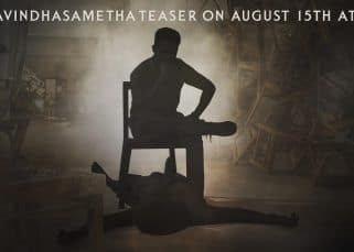 Jr NTR announces that Aravinda Sametha teaser will be out this Independence Day and fans are going berserk!